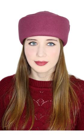 """Шляпка-таблетка """"Митзи"""", купить, оригинальная шляпка-таблетка, натуральный фетр, стильная осень, модная весна, российский производитель, качественные товары, красивый цвет"""
